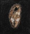Cretto nero e sacco ovale