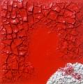 Cretto rosso e trucioli bianchi 4