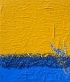 Cretto azzurro e quarzo giallo