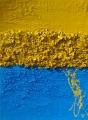 Cretto azzurro  e giallo