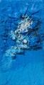 Composizione di materia azzurra