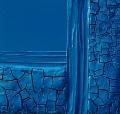 Cretto azzurro e stoffa