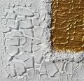 Cretto bianco e oro