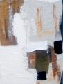 Composizione n. 1 di sacchi e quarzi bianchi