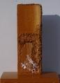 Composizione di cretto nocciola e materia, lato b