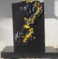 Plastica  e oro (lato a)