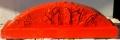 Cretto rosso e trucioli (lato a)