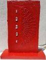 Plastica rossa combusta e pietre, lato b